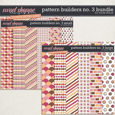 CU Pattern Builders no. 3 Bundle by Tracie Stroud