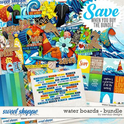 Water boards - Bundle by WendyP Designs