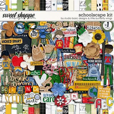 Schoolscape Kit by Studio Basic and Little Butterfly Wings