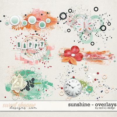 Sunshine - Overlays by Red Ivy Design