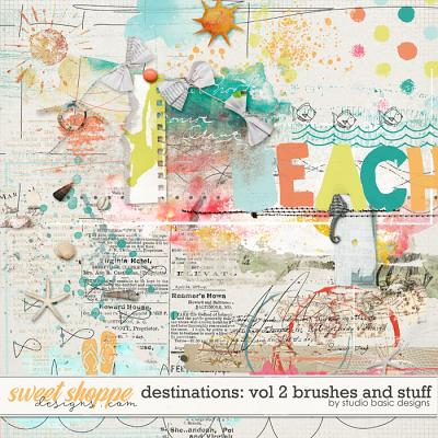 Destinations: Vol 2 - Brushes And Stuff by Studio Basic