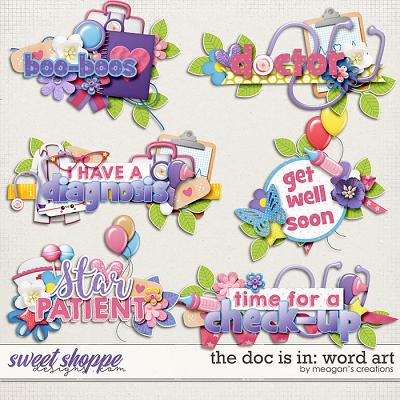 The Doc Is In: Word Art by Meagan's Creations