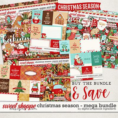 Christmas Season Mega bundle by Digital Scrapbook Ingredients
