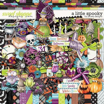 A Little Spooky by JoCee Designs