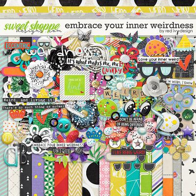 Embrace Your Inner Weirdness by Red Ivy Design