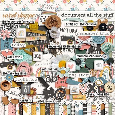 Document all the stuff by Amanda Yi