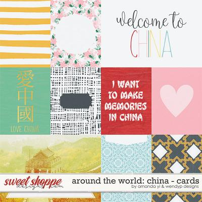 Around the world: China - Cards by Amanda Yi & WendyP Designs