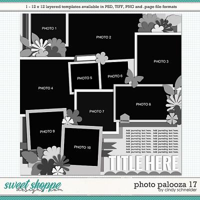 Cindy's Layered Templates - Photo Palooza 17 by Cindy Schneider