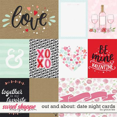 Out and About: Date Night Cards by Grace Lee