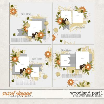 Woodland Layered Templates by Southern Serenity Designs