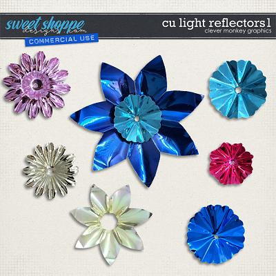 CU Light Reflectors 1 by Clever Monkey Graphics