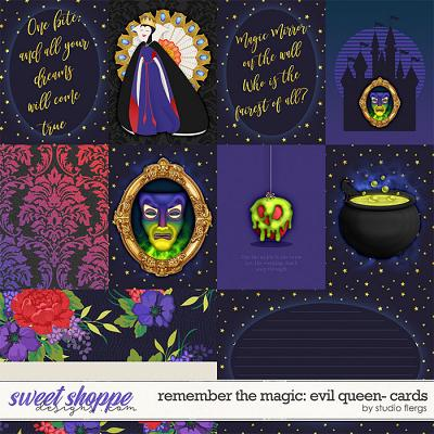 Remember the Magic: EVIL QUEEN- CARDS by Studio Flergs