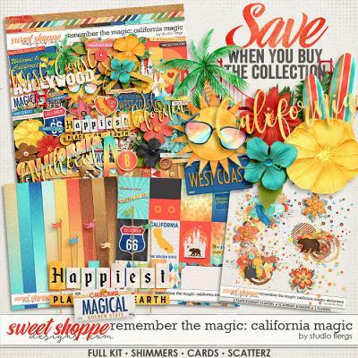 Remember the Magic: CALIFORNIA MAGIC- COLLECTION & *FWP* by Studio Flergs