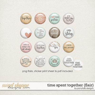 Time Spent Together Flair by Ponytails