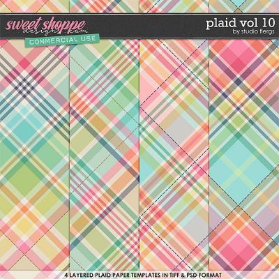 Plaid VOL 10 by Studio Flergs
