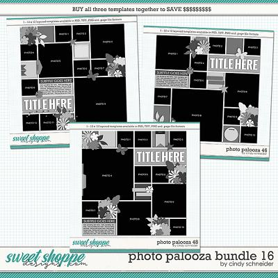 Cindy's Layered Templates - Photo Palooza Bundle 16 by Cindy Schneider