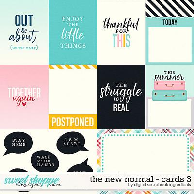 The New Normal | Cards 3 by Digital Scrapbook Ingredients
