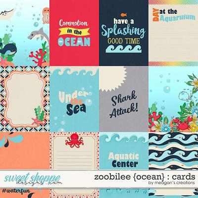 Zoobilee {Ocean} : Cards by Meagan's Creations