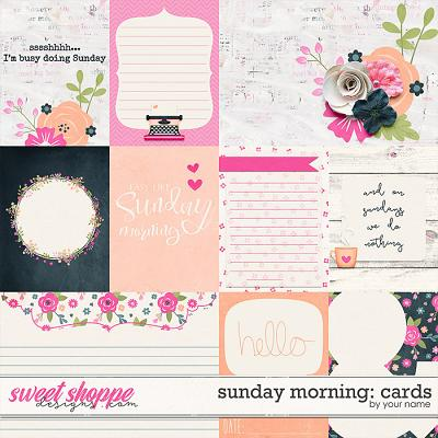 Sunday Morning: Cards by River Rose Designs