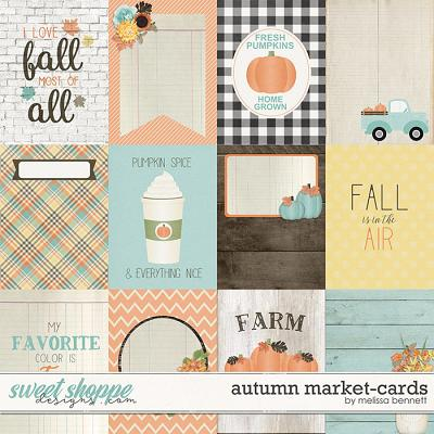 Autumn Market-Cards by Melissa Bennett