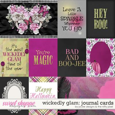Wickedly Glam Cards by JoCee Designs and The Nifty Pixel