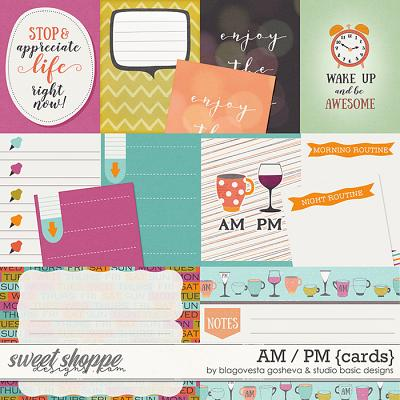 AM/PM Cards by Blagovesta Gosheva and Studio Basic