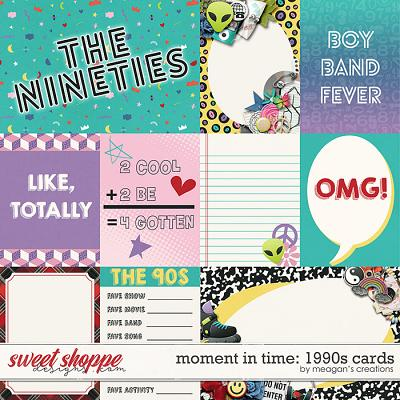 Moment in Time: 1990s Cards by Meagan's Creations