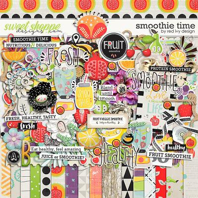 Smoothie Time by Red Ivy Design