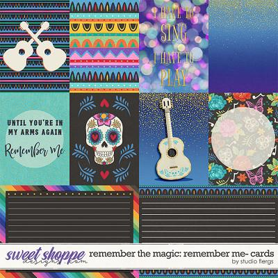 Remember the Magic: REMEMBER ME- CARDS by Studio Flergs
