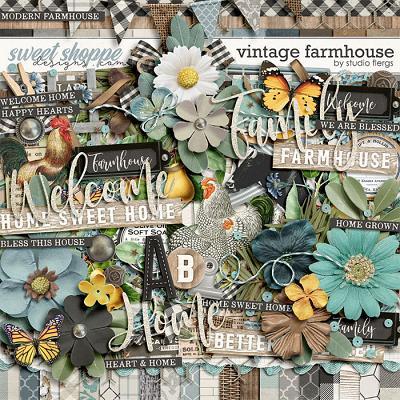 Vintage Farmhouse by Studio Flergs