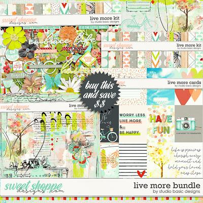Live More Bundle by Studio Basic