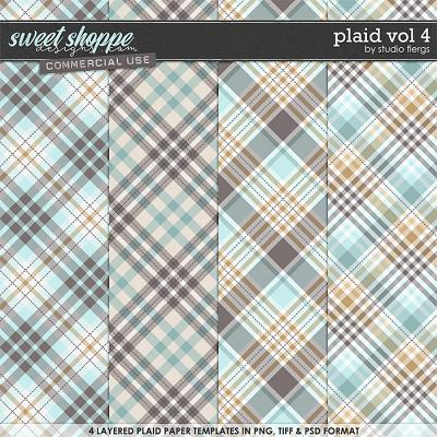 Plaid VOL 4 by Studio Flergs