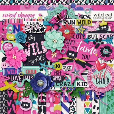 Wild Cat {Kit} by Digilicious Design