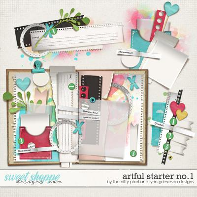 ARTFUL STARTER No.1 by The Nifty Pixel & Lynn Grieveson Designs