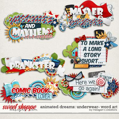 Animated Dreams: Underwear- Word Art by Meagan's Creations
