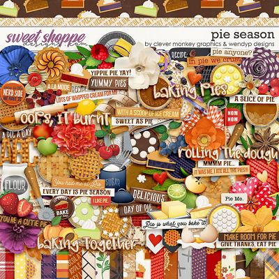 Pie Season by Clever Monkey Graphics and WendyP Designs