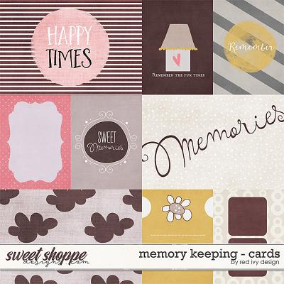 Memory Keeping - Cards by Red Ivy Design