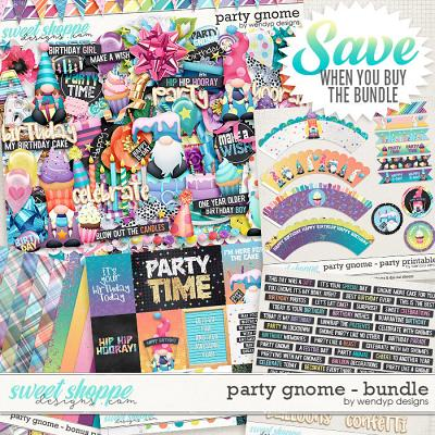 Party Gnome - Bundle & *FWP* by WendyP Designs