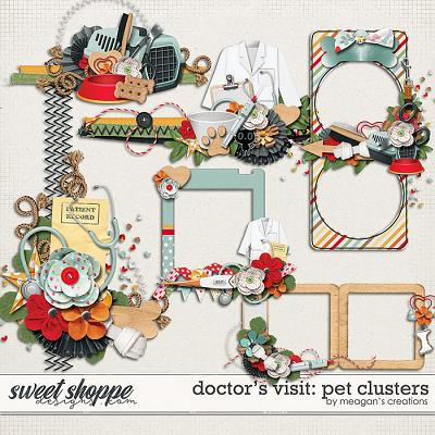 Doctor's Visit: Pet Clusters by Meagan's Creations