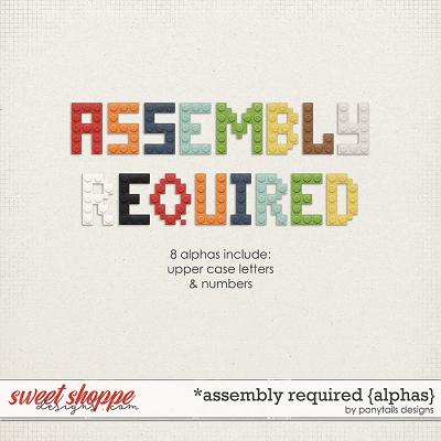 Assembly Required Alphas by Ponytails