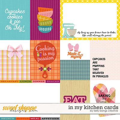 In My Kitchen Cards by Kelly Bangs Creative