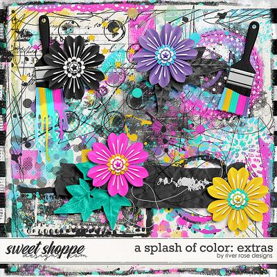 A Splash of Color: Extras by River Rose Designs