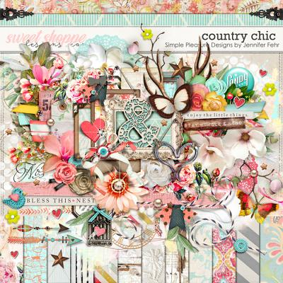 Country Chic Kit: Simple Pleasure Designs by Jennifer Fehr