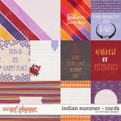 Indian summer - Cards by WendyP Designs