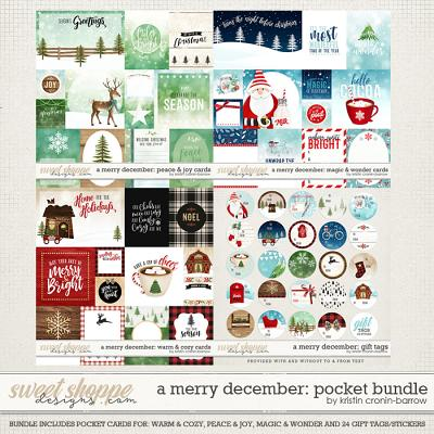 A Merry December: Pocket Bundle by Kristin Cronin-Barrow