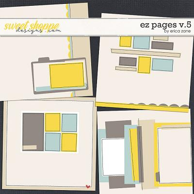 EZ Pages v.5 Templates by Erica Zane