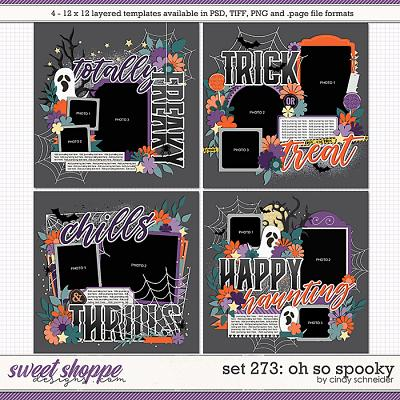 Cindy's Layered Templates - Set 273: Oh So Spooky by Cindy Schneider