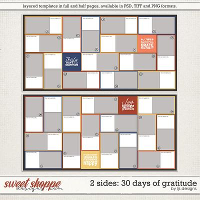 2 Sides: 30 Days of Gratitude by LJS Designs