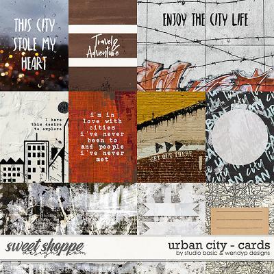 Urban City Cards by Studio Basic & WendyP Designs