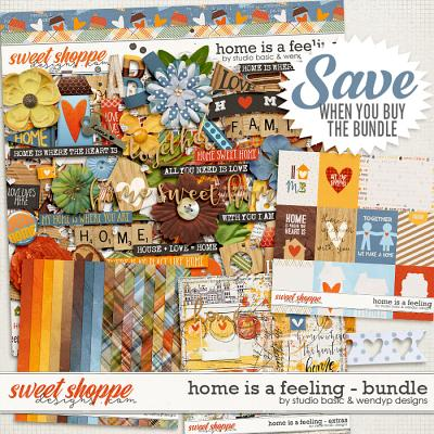 Home Is A Feeling Bundle by Studio Basic and WendyP Designs